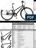 VSF bicycle Model T100 specs