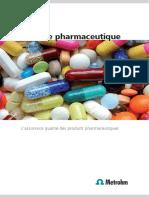 Analyse Pharmaceutique