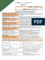 Formas Básicas y Plan de Redacción EducarChile (3p)