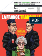 COURRIER INTERNATIONAL N°1320 du 18 au 24 Février 2016