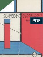 Antropologia filosofica positiva