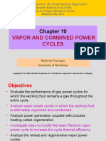 Docfoc.com-Chapter 10 VAPOR AND COMBINED POWER CYCLES Mehmet Kanoglu University of Gaziantep Copyright © The McGraw-Hill Companies, Inc. Permission required for reproduction.