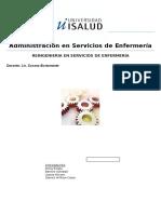 TP de Administracion en Enfermeria ISALUD
