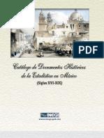 Catalogo de Documentacion Historica INEGI 1