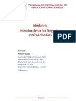Modulo de Introduccion - Especializacion