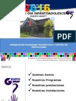 Presentación General Dispositivo Hospital Diurno Infanto Adolescente Programas PAI y HD