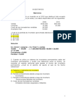 SOLUCION 2 Ejercicios Inventarios