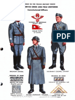 Italian Uniforms WW2 TME 30-420