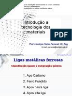 Cap 2b - Ligas Metalicas Ferrosas