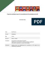 Abdelghani Ben Moussa - Curriculum Vitae