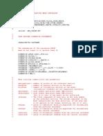 c User Input for Adaptive Mesh Constraint