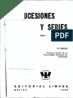 Sucesiones y Series - Yu Takeuchi - Tomo I