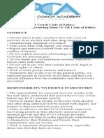 PCA Ethics