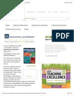 el-informative assessment feedback that fits