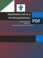 Neumonía Extra e Intrahospitalaria