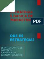 Estrategia Basica de Marketing