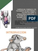 Cabergolina Combinada Con Tratamiento de Metformina y Sus
