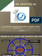 Gestión de Servicio Al Cliente 1- 4 2016