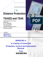 Distance Protection 7SA522