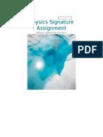 signature assigment