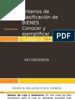 CLASE 06 Clasificacion de BIENES (Continuación