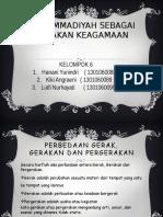6. Muhammadiyah Sebagai Gerakan Keagamaan