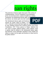Const Law Filla Human Rights