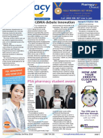 Pharmacy Daily for Mon 02 May 2016 - MA, GBMA debate innovation, Heart treatment warning, New Guild ad campaign, PSA pharmacy student award and much more