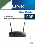 TL-WDR3600 V1 User Guide
