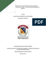 Artículo El Impacto Ambiental Por La Actividad de Explotación de Canteras en La Localidad de Usme y Sus Principales Medidas de Manejo.