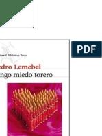 Lemebel Pedro - Tengo Miedo Torero