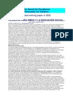 FpN y Educacion Social