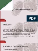 Tailoring Composite Materials