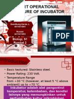 Instrumentasi - Inkubator