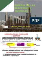 INGENIERIA DE LAS REACCIONES QUIMICAS