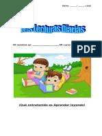 MIS LECTURAS DIARIAS  4º BÁSICO EJEMPLOS.doc