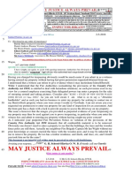 20160502-Schorel-Hlavka O.W.B. to Mr Wayne Wall & ORS-Re APPEAL-15-2502-Re Self Incriminations-etc