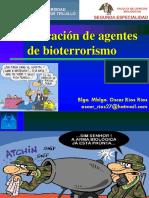 Bioterrorism o