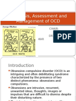Diagnosis, Assessment and Management of OCD