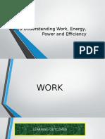 2.10 Work, Energy, Power n Efficiency