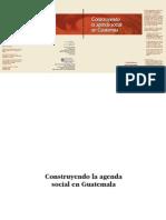 Construyendo La Agenda Social en Guatemala