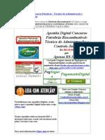 baixar Apostila petrobras biocombustivel 2010 frete gratis download Apostila Digital Concurso Petrobrás Biocombustivel- Técnico de Administração e Controle Júnior 2010  baixar