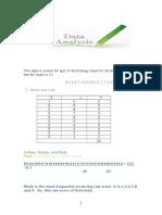 wafas data analysis