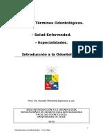 GLOSARIO ODONTOLOGIA UDECHILE