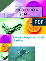 3.2 Understanding Pressure in Liquid