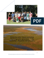 Kimberley Water Governance Fin Report