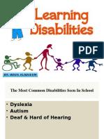 disabilities presentation