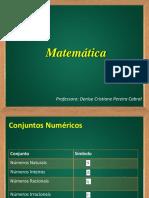 01 - Conjuntos Numéricos