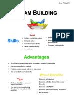 team building handout