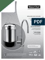 WaterChef Installation Manual U9000 Under Sink